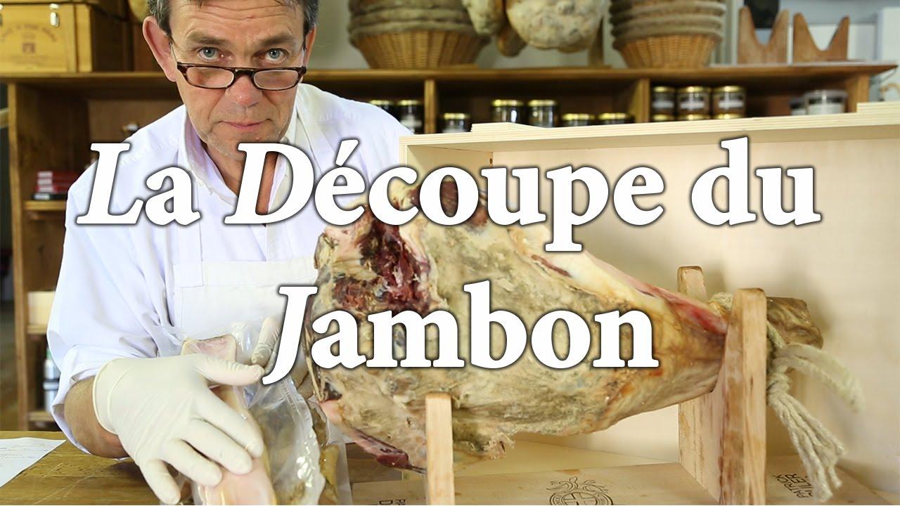 La d coupe du jambon patrick duler en 7 tapes youtube - Comment couper un jambon iberique ...