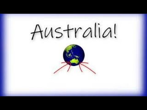 Australia: States, Territories and Capital Cities