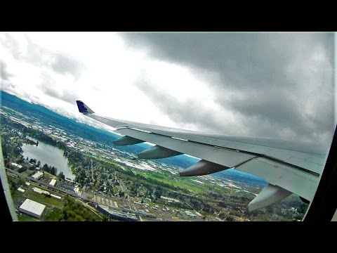[4K] A330 Takeoff SEA-OGG HA29 / Hawaiian N379HA