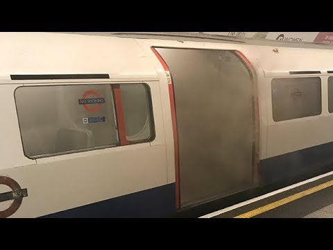 Fire on Bakerloo line tube train