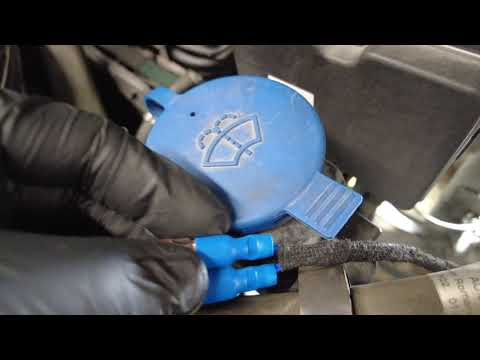 Mercedes-Benz | How To Fix Faulty Washer Fluid Warning