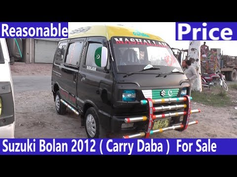 Suzuki Bolan For sale Modal 2012 (Carry Daba) | Good Condition, Price Detail, Specificati & Features