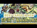 BEST CARDS IN NEW YUGIOH SET SPIRIT WARRIORS (IS IT WORTH BUYING?) SIX SAMS WEATHERY MAGICAL MUSKETS mp3 indir