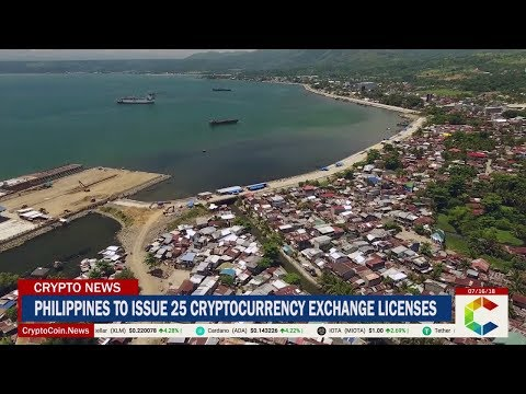 Philippines To Issue 25 Cryptocurrency Exchange Licenses