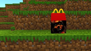 Minecraft - Chuck E Cheese Happy Meal