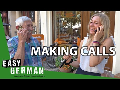 How to make a phone call in German | Super Easy German (107)