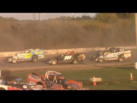 Topless Sportsman Modified B-Main Two | Genesee Speedway | 9-16-18