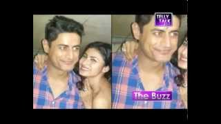 SPOTTED: Mohit Raina at Mouni Roy