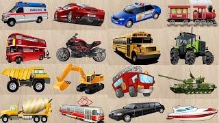 Мультики про машинки, Транспорт, Спецтехника, Строительная техника