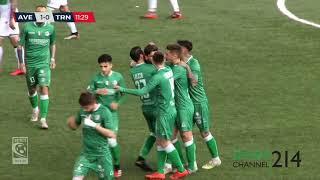 """Nel trentesimo turno del girone c di serie i biancoverdi si impongono al """"partenio-lombardi"""" per 2-0 grazie alle reti albadoro e paolantonio"""