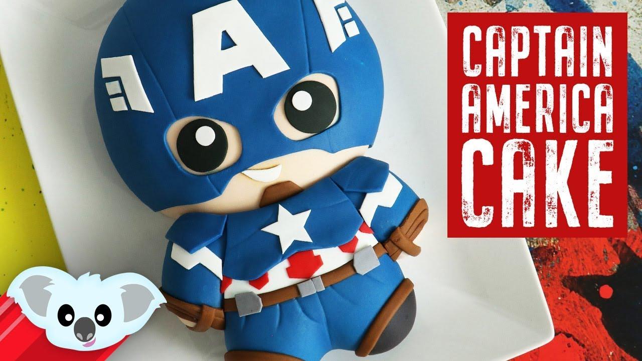 avengers captain america cake