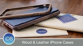 Grovemade iPhone 7 Bumper & Folio Cases are Crafted from Wood & Leather - Review