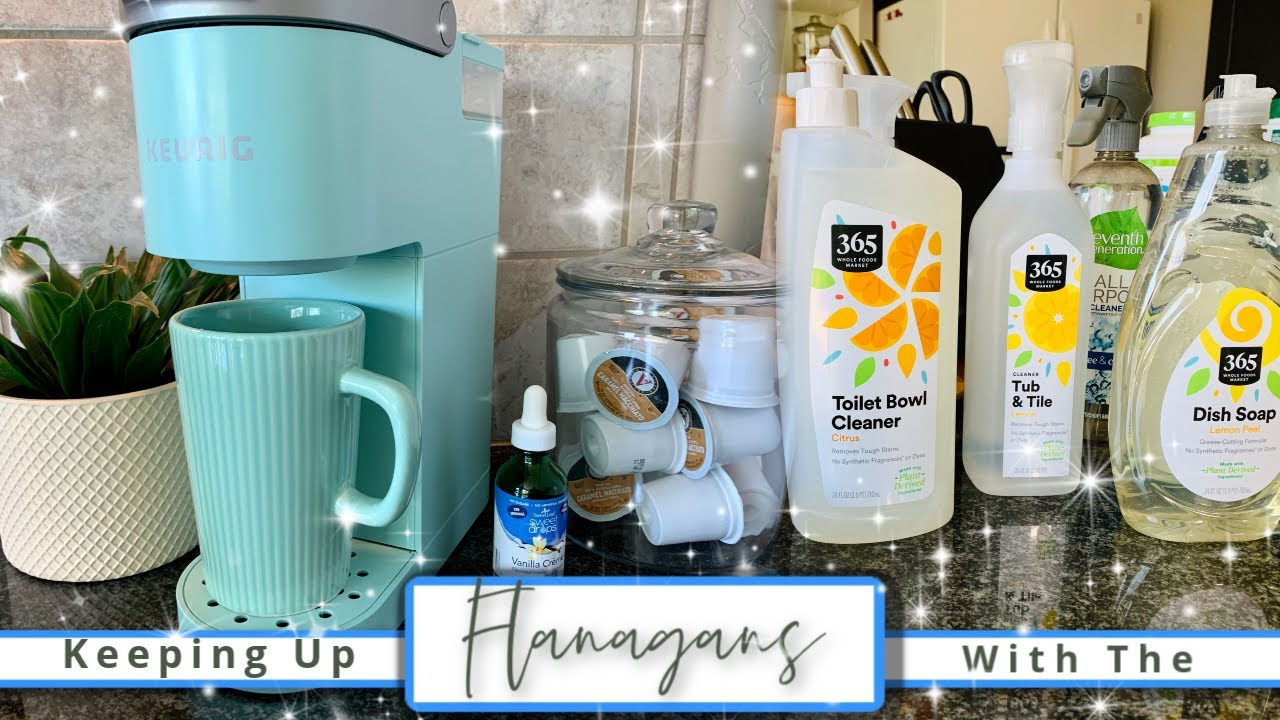 Coffee Chat & Eco Friendly Cleaning Supplies Haul!! | KUWTF VLOG!