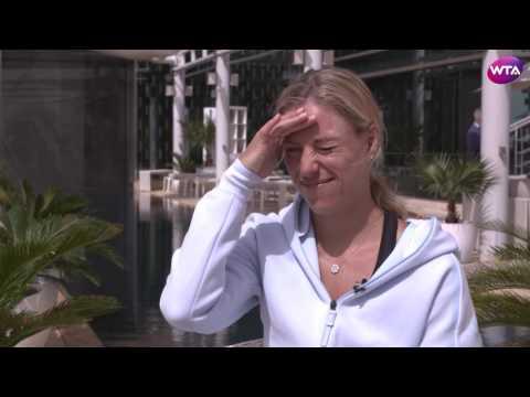 Angelique Kerber | 2017 Dubai Duty Free Tennis Championships Pre-Tournament Interview