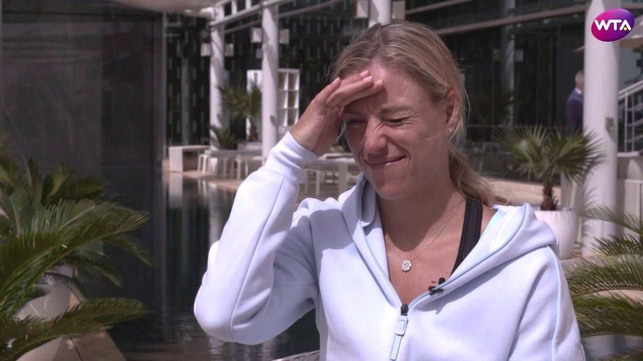 Angelique Kerber 24-01-18 interview | Australian Open