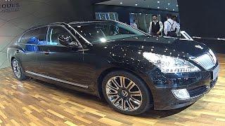 Hyundai Equus Limousine 2016, 2017 video review смотреть