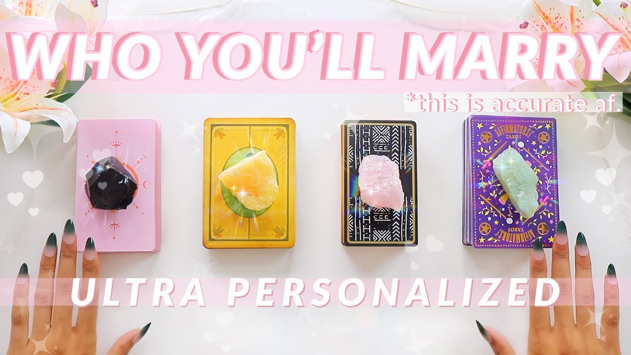 👉Who You'll End Up Marrying & When🔥💒👩❤️👨(Zodiac-Based)🔮✨Tarot Reading✨🔮🧚♂️Pick Twice!✨