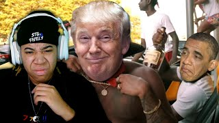 Azerrz - If Trump Was A New York Drill Rapper! | SimbaThaGod Reacts