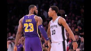 Lakers vs Spurs Full Game Highlights! 2019 NBA Season