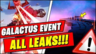 Fortnite Galactus Event Season 5 FINAL Leaks (SPOILERS)
