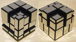 HOW TO DO SOME COOL PATTERNS ON A MIRROR CUBE!!!!!!!!! Video
