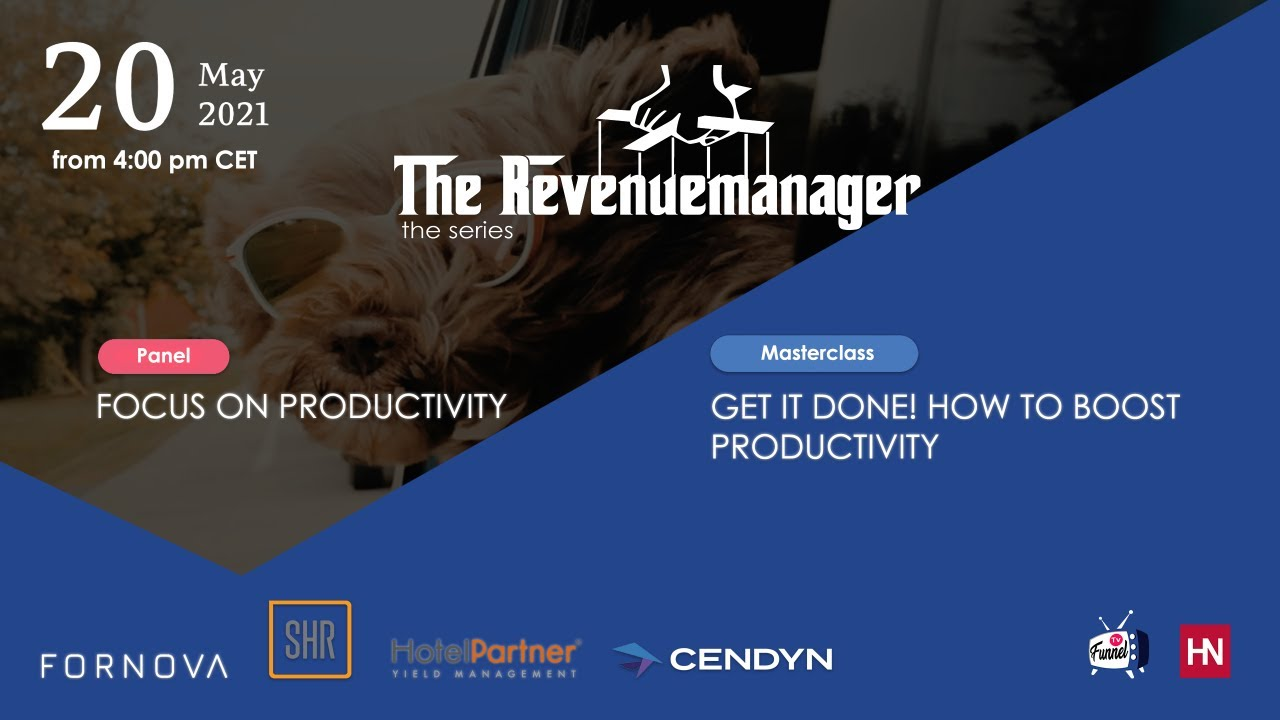 The Revenuemanager episode #4: Focus on Productivity (FULL EPISODE)