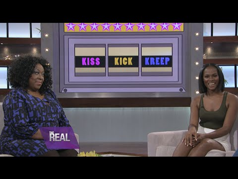 Tika Sumpter Plays 'Kiss, Kick, or Kreep?'