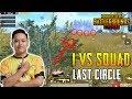 LAST CIRCLE 1 VS SQUAD! VipYakuza GAMEPLAY | PUBG Mobile Malaysia