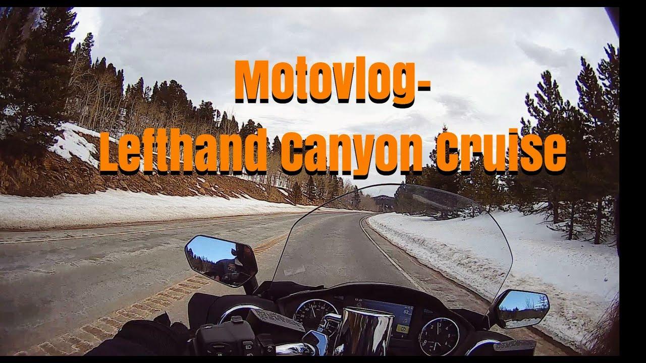 MotoVlog-Lefthand Canyon Cruise