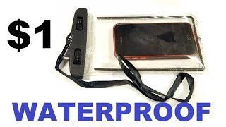 Random Reviews Ep. 26: $1 Waterproof Pouch Phone Case