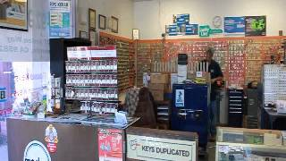 Jeffs Locksmiths Shop at 2377 Arden Way Sacramento CA