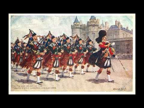 Queen's Own Highlanders - The March of the Cameron Men