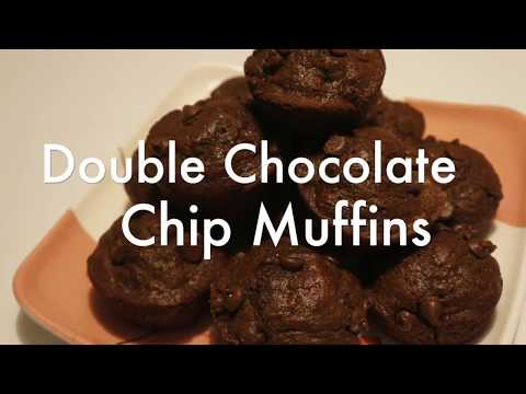 Double Chocolate Chip Muffins!