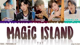 Download lagu TXT  - 'MAGIC ISLAND' Lyrics [Color Coded_Han_Rom_Eng]