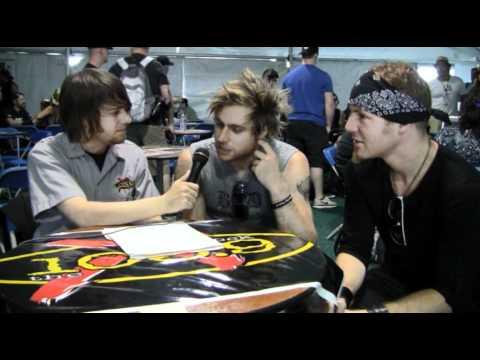 103.9 THE X - Rock on the Range 2011 - My Darkest Days - Artist Interviews