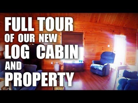 GGC - 56 - A Full Tour of Our New Cabin and Property!