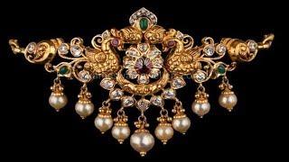 Light Weight Gold Traditionnal Choker Designs 2019 | Indian Jewellery Design 2019