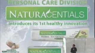 NATURACENTIALS HERBAL TOOTHPASTE PRODUCT PRESENTATION