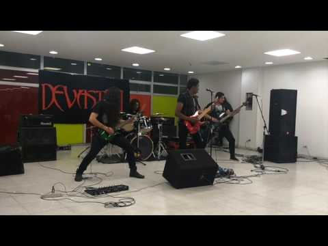 Devasted - Maniatico thrasher @ Rock INC Auditions