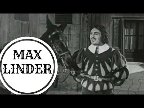 Макс Линдер - Три пройдохи (пародия на Трех мушкетеров) Max Linder / Немое кино с тапером