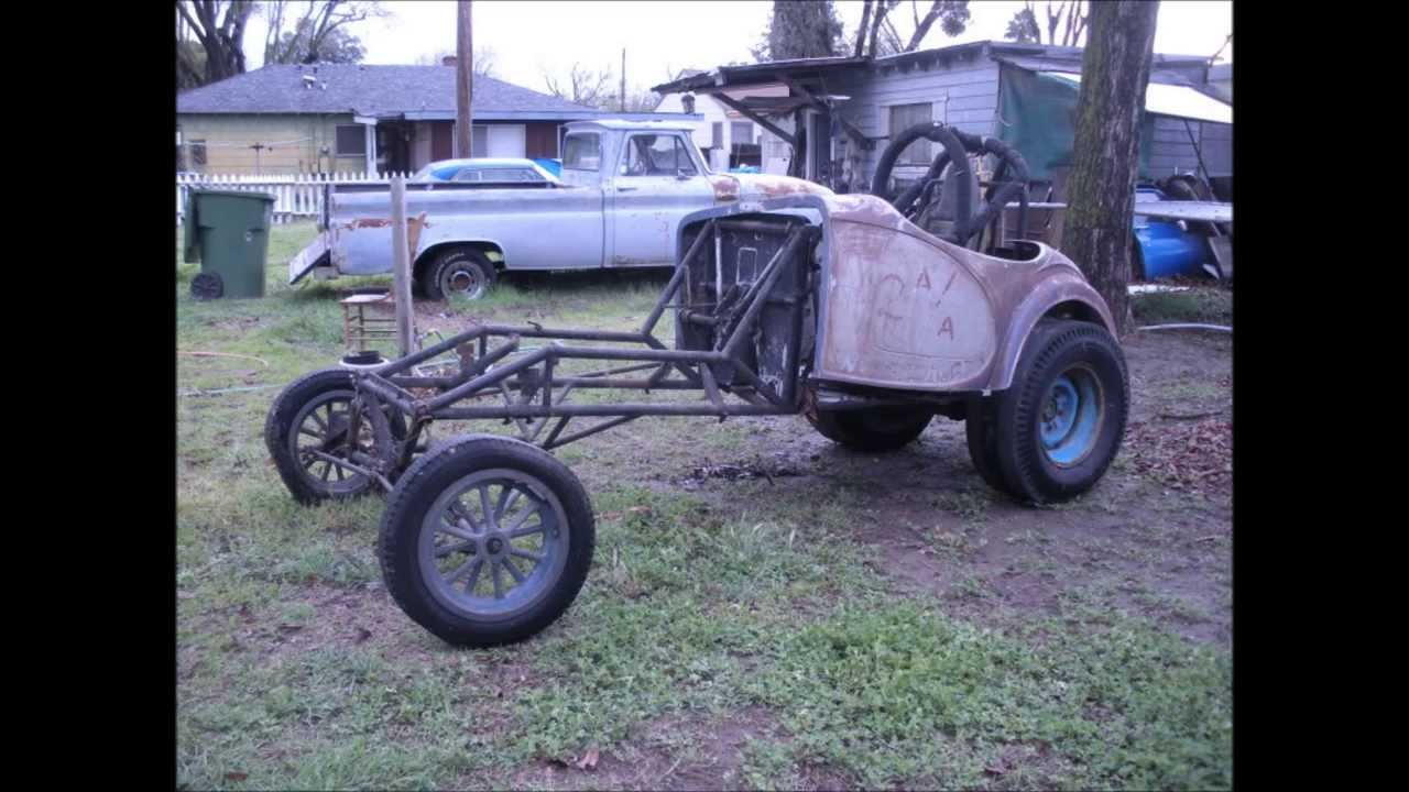 BARN FINDS RACE CARS