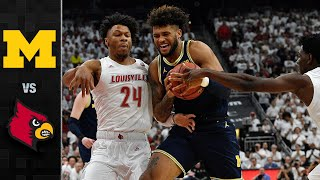 Michigan vs. Louisville Men's Basketball Highlights (2019-20)