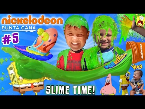 Thumbnail: SLIME TIME @ NICKELODEON HOTEL PUNTA CANA! FUNnel Vision says Goodbye (Part 5 w/ Recap & Review)