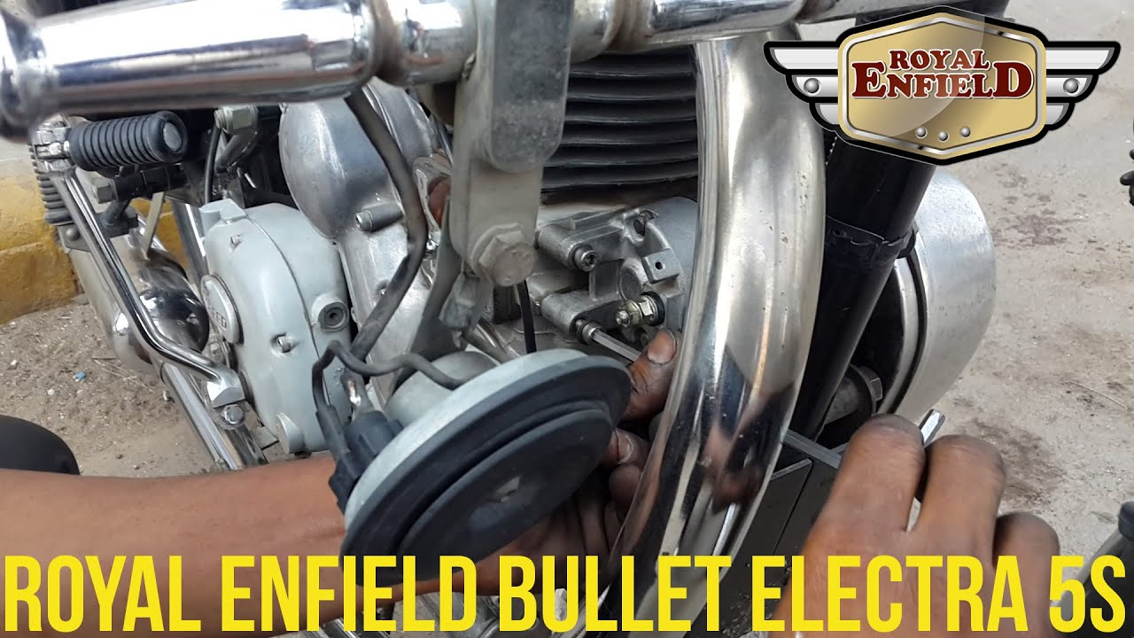 Diagram Royal Enfield Electra Wiring In Addition Bullet Starter Fitting Re Lovers Youtube