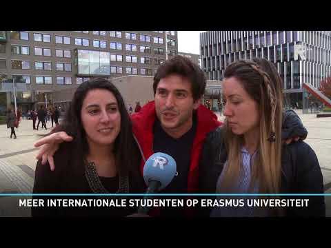 Meer internationale studenten op Erasmus Universiteit Rotterdam