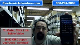 Original Sharp RRMCGA021WJSA VCR Remote Control (GA021WJ)Coupon $5 Off -- ElectronicAdventure.com