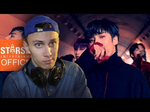 РЕАКЦИЯ НА K-POP!!! (MONSTA X - DRAMARAMA REACTION)