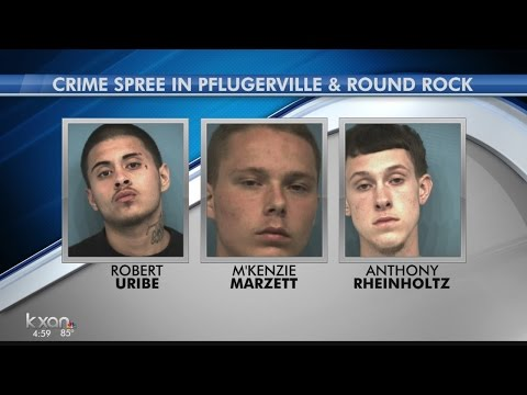 Police: Gang activity led to Round Rock crime spree, Pflugerville murder