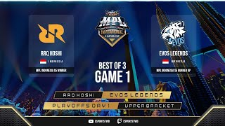 RRQ Hoshi vs EVOS Legends GAME 1 MPL Invitational Playoffs | EVOS vs RRQ ESPORTSTV