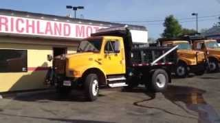 1997 International 4900 Series Dump Truck